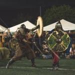 Combate Medieval, no Sesc Osasco