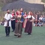 Danças Medievais, no Sesc Jundiaí