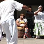 Comunidade Jongo Dito Ribeiro, no Sesc Santo André