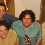 Quarteto de Cordas Vocais, no Sesc Bertioga