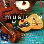 Arte&Efeito apoia: projeto Musicafé